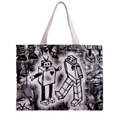 Robot Love Tiny Tote Bag