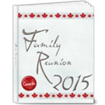 Family Reunion2015 - 8x10 Deluxe Photo Book (20 pages)