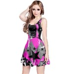 Pink Scene kid Reversible Sleeveless Dress