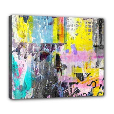 Graffiti Pop Deluxe Canvas 24  X 20  (framed)