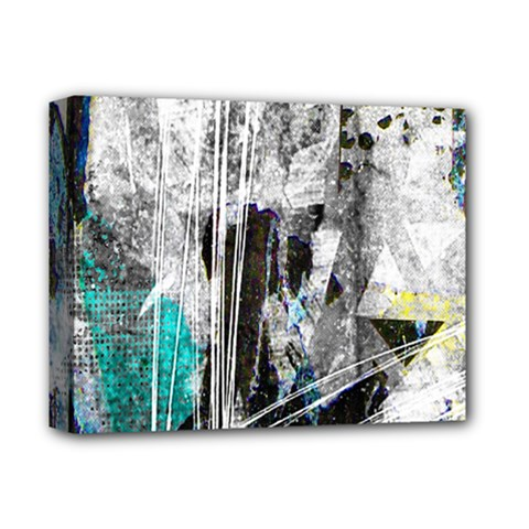 Urban Funk Deluxe Canvas 14  x 11  (Framed) by ArtistRoseanneJones