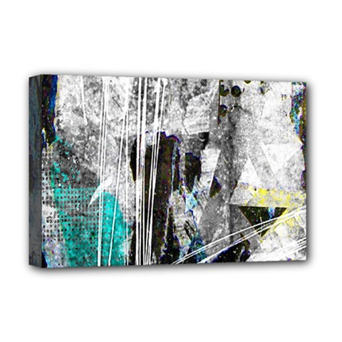 Urban Funk Deluxe Canvas 18  X 12  (framed) by ArtistRoseanneJones