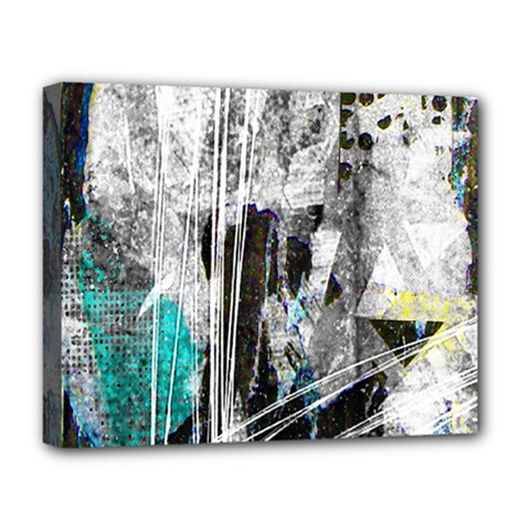 Urban Funk Deluxe Canvas 20  X 16  (framed) by ArtistRoseanneJones