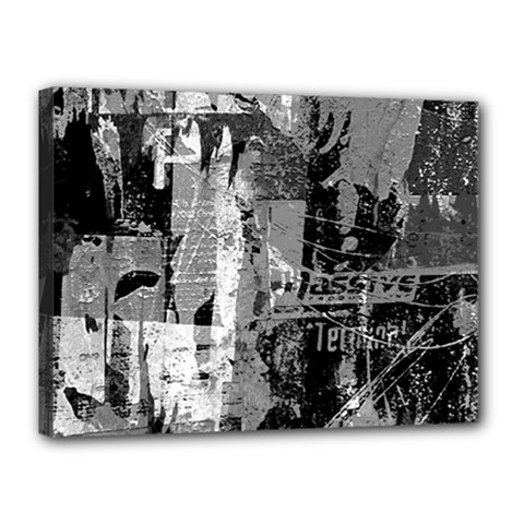 Urban Graffiti Canvas 16  X 12  (framed) by ArtistRoseanneJones