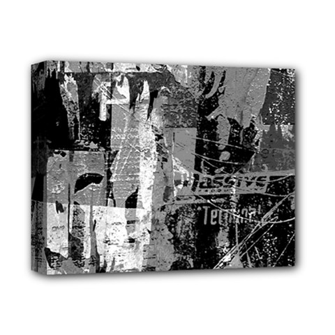 Urban Graffiti Deluxe Canvas 14  x 11  (Framed) by ArtistRoseanneJones