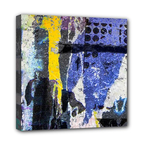 Urban Grunge Mini Canvas 8  X 8  (framed) by ArtistRoseanneJones