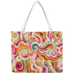 Sunshine Swirls Tiny Tote Bag by KirstenStar