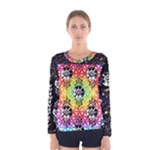 Galactic Fluff Balance Women s long sleeve t-shirt