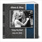 Shay Glenn Wedding - 8x8 Photo Book (20 pages)