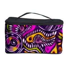 Purple Tribal Abstract Fish Cosmetic Storage Case by KirstenStar
