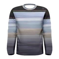 Painted Pompey Beach Men s Long Sleeve T Shirt by DeneWestUK