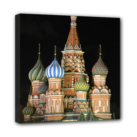 Saint Basil s Cathedral  Mini Canvas 8  X 8  (framed) by anstey