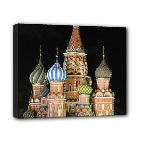 Saint Basil s Cathedral  Canvas 10  X 8  (framed) by anstey