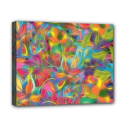 Colorful Autumn Canvas 10  X 8  (framed) by KirstenStar