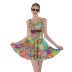 Colorful Autumn Skater Dress by KirstenStar