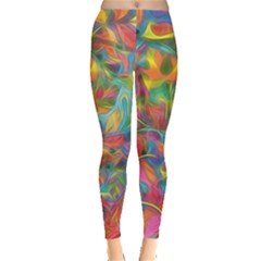 Colorful Autumn Leggings  by KirstenStar