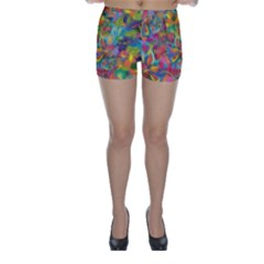Colorful Autumn Skinny Shorts by KirstenStar