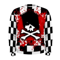 Emo Skull Men s Sweatshirt