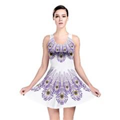 Peacock Reversible Skater Dress by olgart