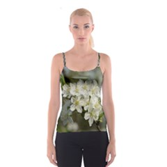 Spring Flowers Spaghetti Strap Top by anstey