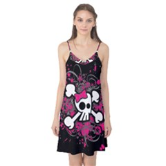 Girly Skull And Crossbones Camis Nightgown