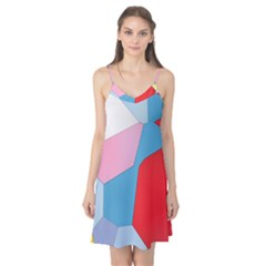 Colorful Pastel Shapes Camis Nightgown