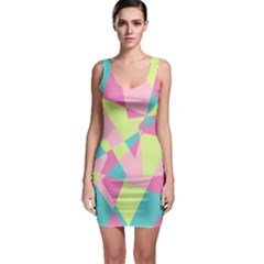 Abstraction Bodycon Dress by olgart