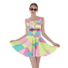 Abstraction Skater Dress