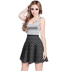 Polka Dots Reversible Sleeveless Dress by olgart