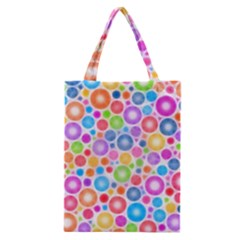 Candy Color s Circles Classic Tote Bag