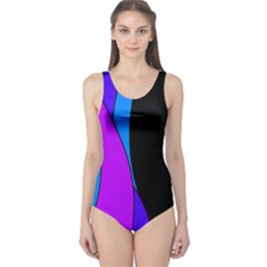 Blues One Piece Swimsuit