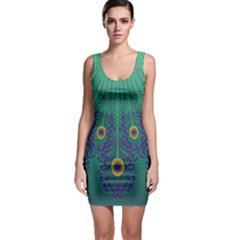 Peacock Emerald Bodycon Dress