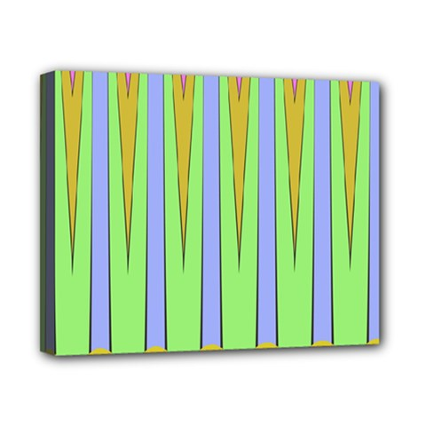 Spikes Canvas 10  X 8  (stretched) by LalyLauraFLM