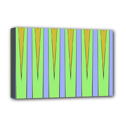 Spikes Deluxe Canvas 18  X 12  (stretched) by LalyLauraFLM