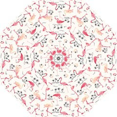 Flamingo Pattern Golf Umbrellas by Contest580383