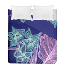 Purple, Pink Aqua Flower Style Duvet Cover (twin Size) by Contest1918526