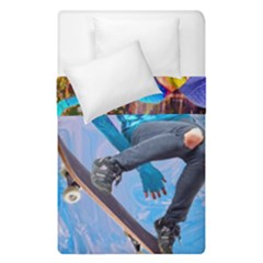 Skateboarding On Water Duvet Cover (single Size) by icarusismartdesigns