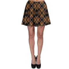Luxury Modern Baroque Skater Skirts by dflcprintsclothing