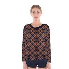 Luxury Modern Baroque Women s Long Sleeve T-shirts