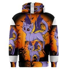 Seruki Vampire Kitty Cat Men s Pullover Hoodies