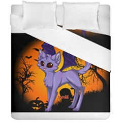 Seruki Vampire Kitty Cat Duvet Cover (double Size) by Seruki