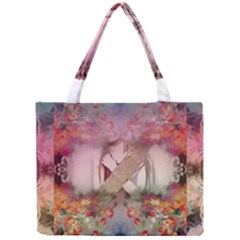 Nature And Human Forces Tiny Tote Bags by infloence