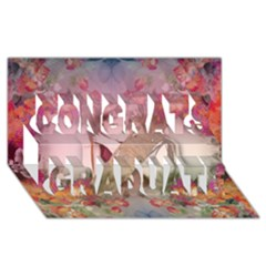 Nature And Human Force Congrats Graduate 3d Greeting Card (8x4)  by infloence