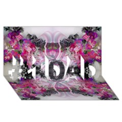 Natureforces Abstract #1 Dad 3d Greeting Card (8x4)