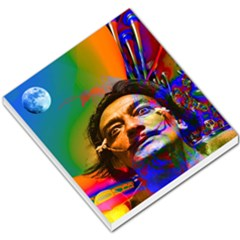 Dream Of Salvador Dali Small Memo Pads by icarusismartdesigns