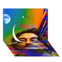 Dream Of Salvador Dali Circle 3d Greeting Card (7x5)