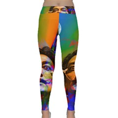 Dream Of Salvador Dali Yoga Leggings
