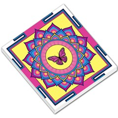 Butterfly Mandala Small Memo Pads by GalacticMantra