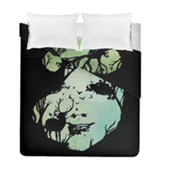 Spirit Of Woods Duvet Cover (Twin Size) by Civit