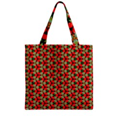 Lovely Trendy Pattern Background Pattern Grocery Tote Bags by creativemom